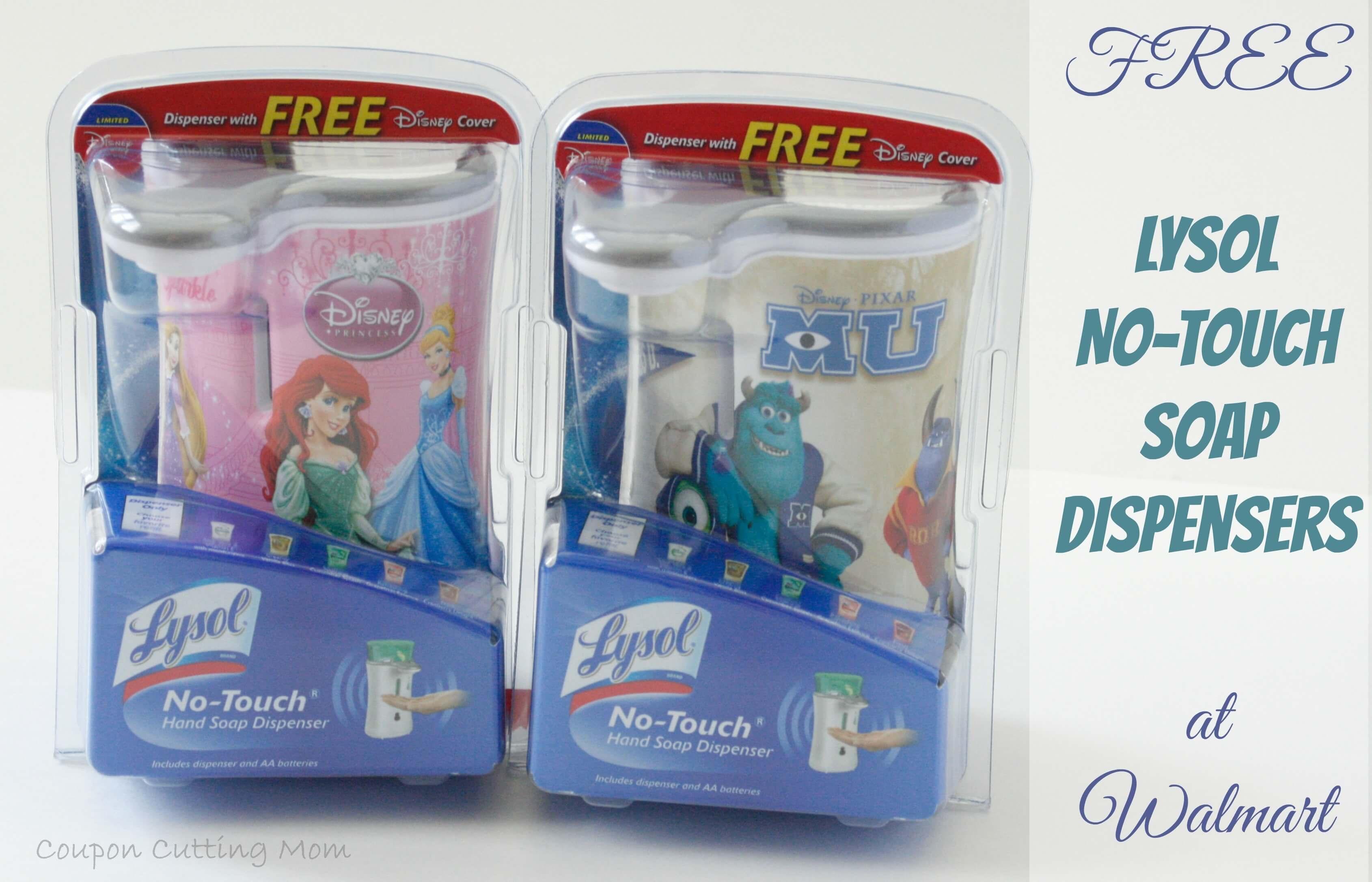 Walmart: Free Lysol No-Touch Soap Dispensers - Lysol Hands Free Soap Dispenser Printable Coupon