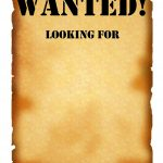 Wanted Poster Printable | Best Template & Design Images   Wanted Poster Printable Free