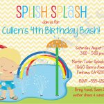 Water Park Birthday Invitations | Birthdaybuzz   Free Printable Water Park Birthday Invitations