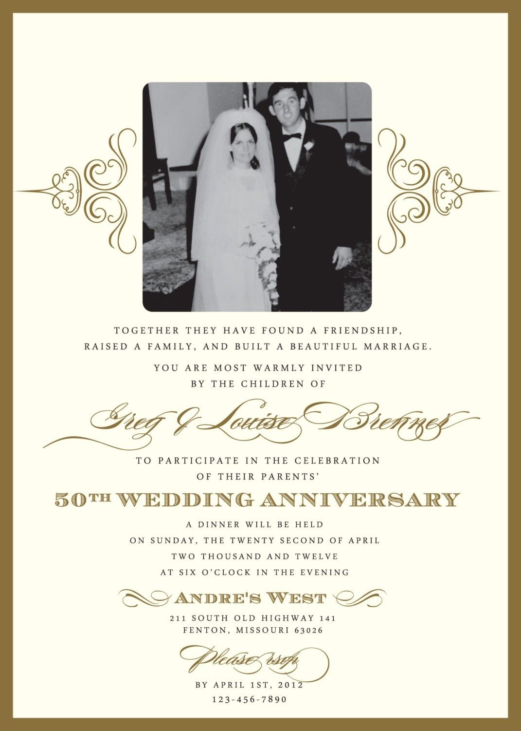 Wedding Anniversary Invitations- What You Should Do To Find Out - Free Printable 60Th Wedding Anniversary Invitations