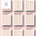 Wedding Planner Printable, Wedding Planner Book Printable, Planning   Free Printable Wedding Planner Book Pdf