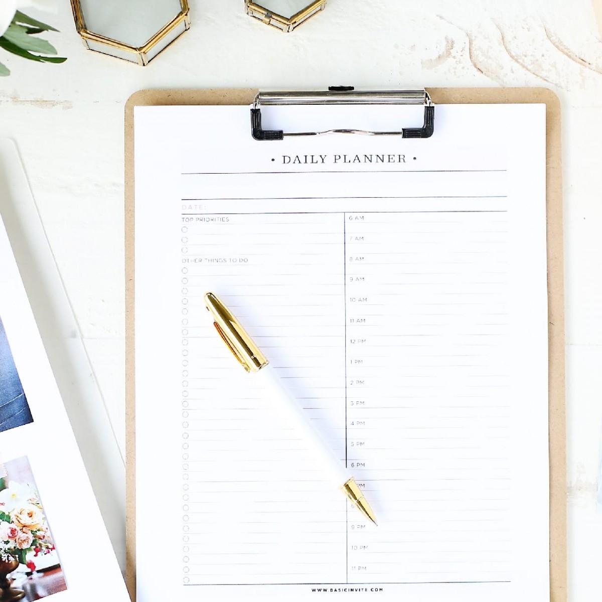 Wedding Planner Printablebasic Invite - Free Printable Wedding Planner Book Online