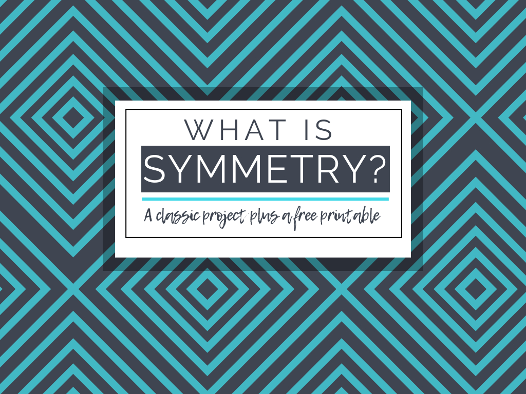 What Is Symmetry In Art- A Classic Project And A Free Printable - Free Printable Artwork For Home
