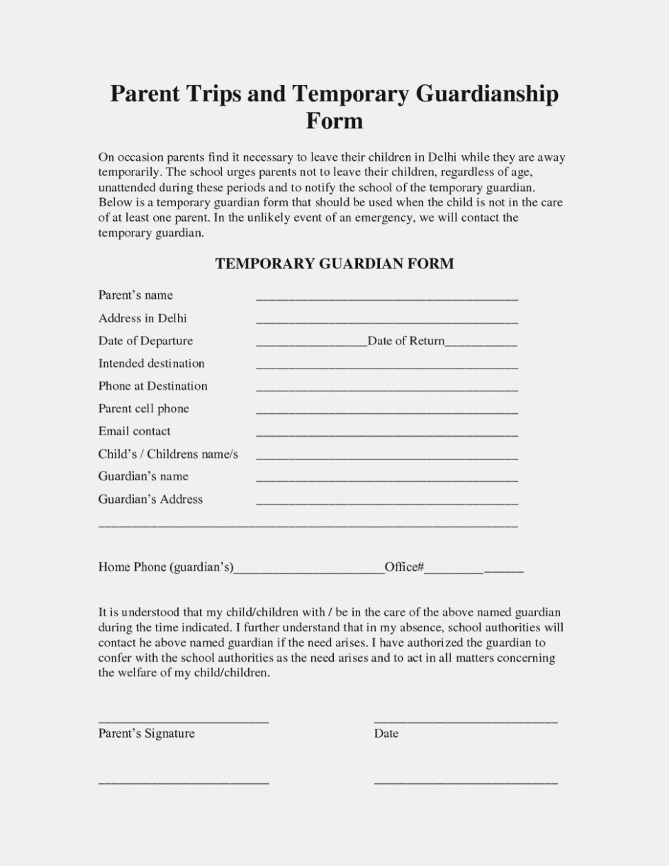 What's So Trendy About Free   The Invoice And Resume Template - Free Printable Child Custody Forms