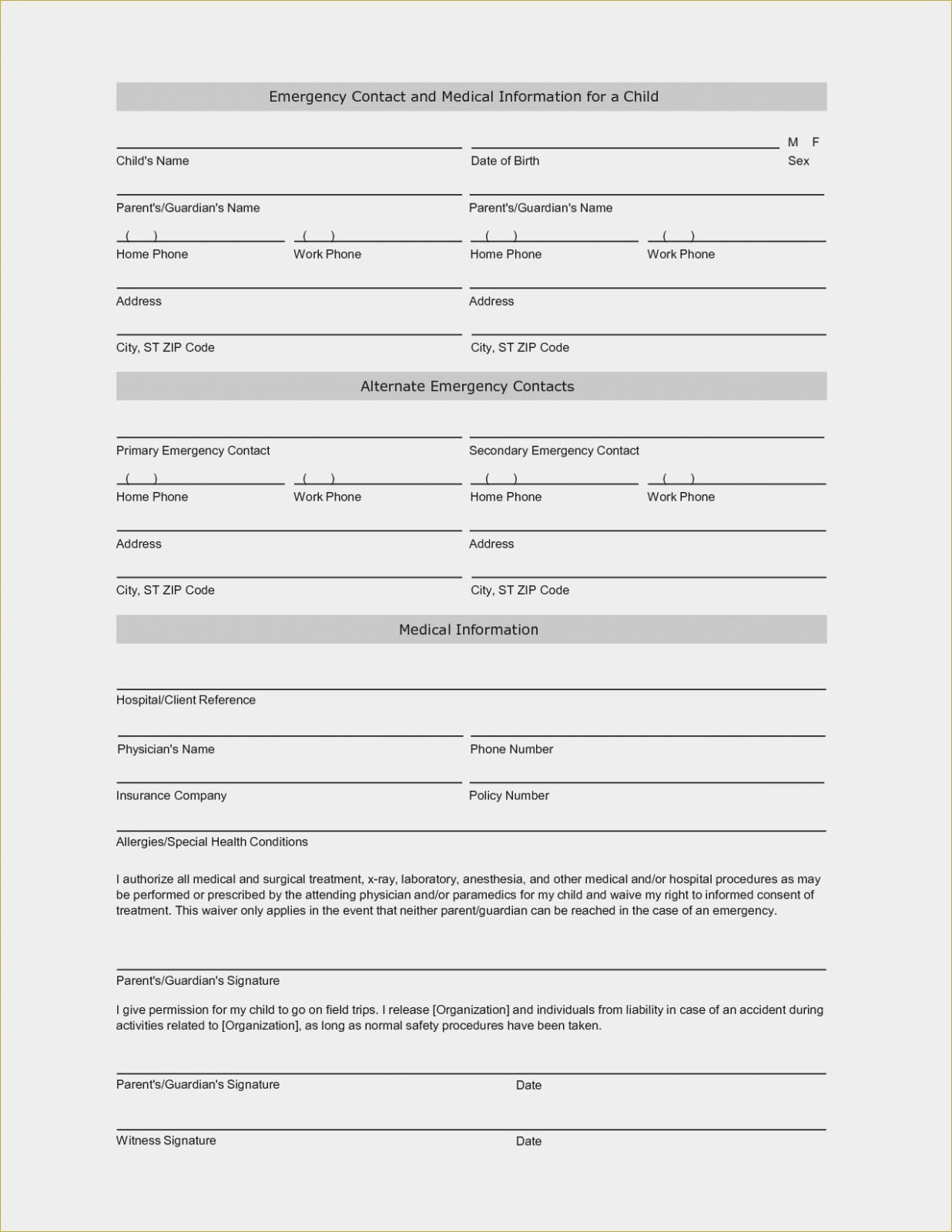 Why Free Guardianship | Invoice And Resume Template Ideas - Free Printable Child Guardianship Forms