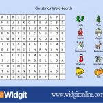 "Widgit Software On Twitter: ""free Christmas Word Search! Download   Free Printable Widgit Symbols"