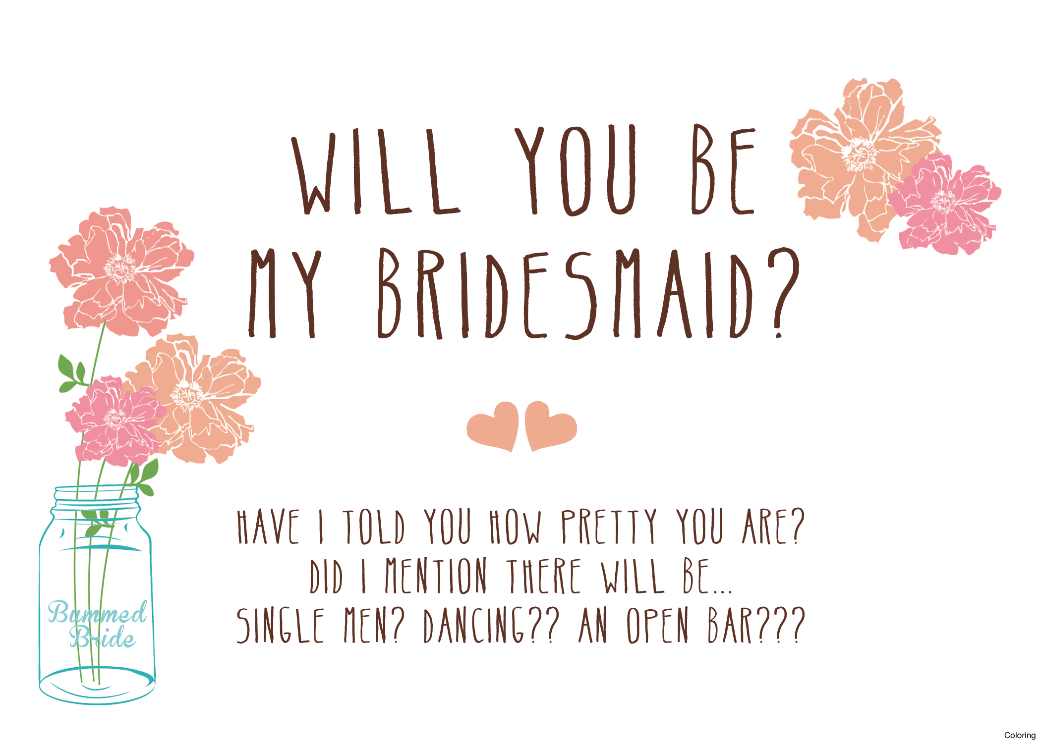 Will You Be My Bridesmaid Card Template Best Cards Products On - Free Printable Will You Be My Bridesmaid Cards