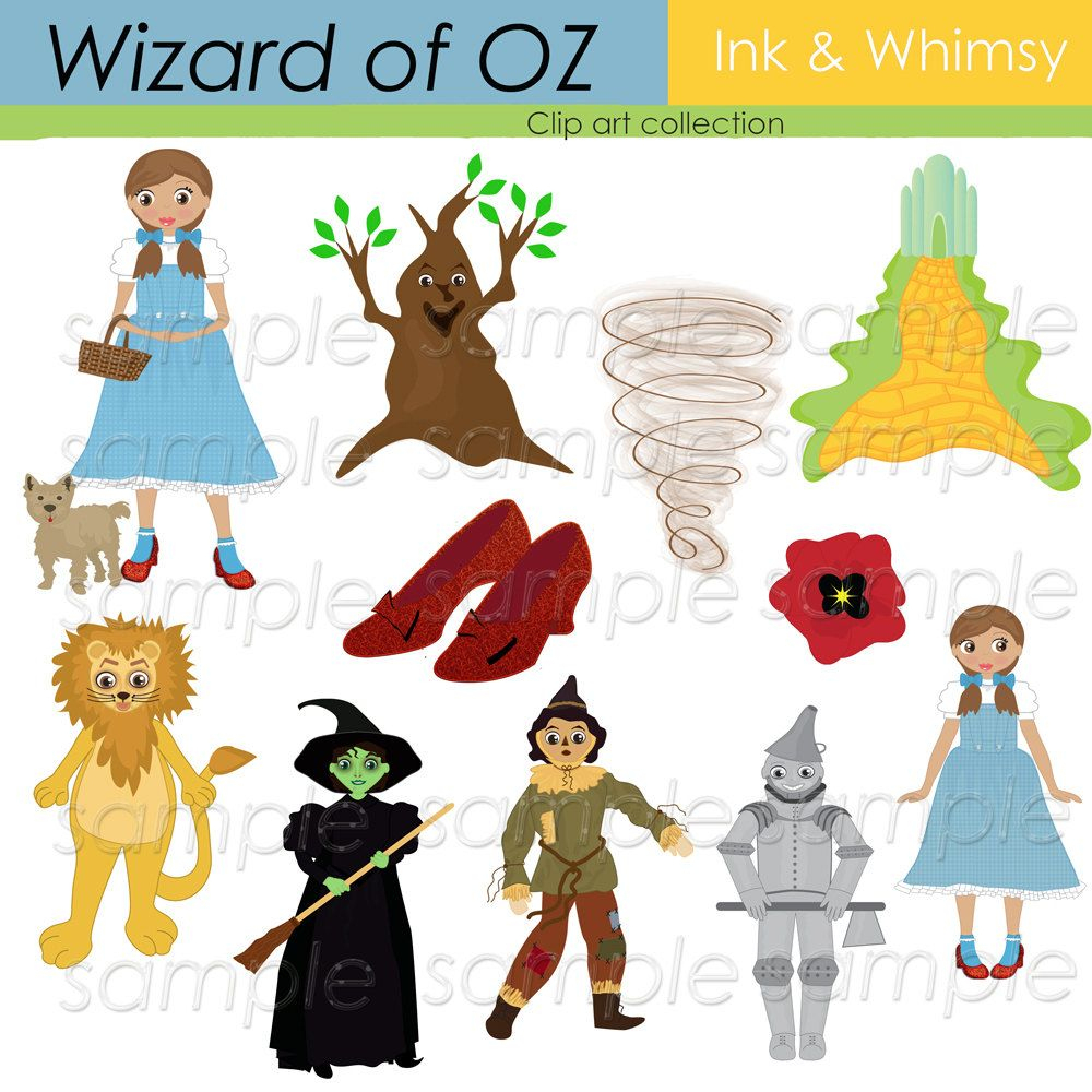Wizard Of Oz, Digital Clip Art, Stationary, Scrapbooking And Paper - Free Printable Wizard Of Oz Masks