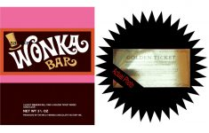 Free Printable Wonka Bar Wrapper Template