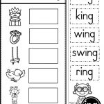 Word Family Ing Phonics Practice Printables Kindergarten Tales Pre   Free Printable Rhyming Activities For Kindergarten