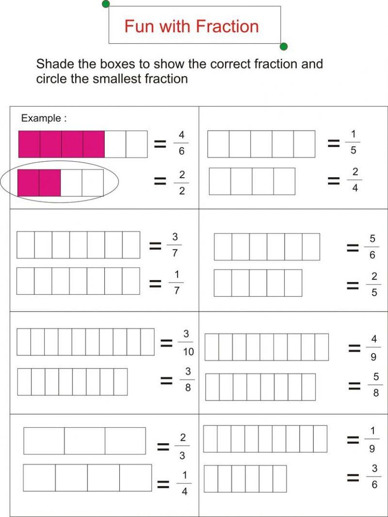 Worksheet First Grade Fraction Worksheets Fun For Photo Free - Free Printable First Grade Fraction Worksheets