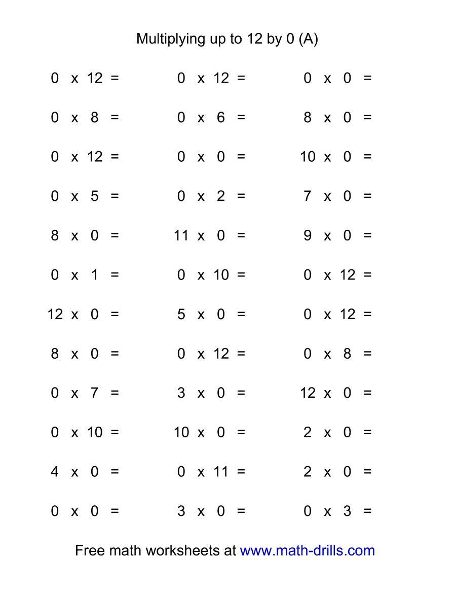 Worksheet. Multiplication Speed Drill. Worksheet Fun Worksheet Study - Free Printable Multiplication Speed Drills