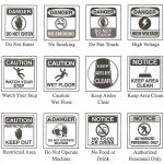 Worksheet Safety Signs Worksheet Free Printable Community Safety   Free Printable Safety Signs