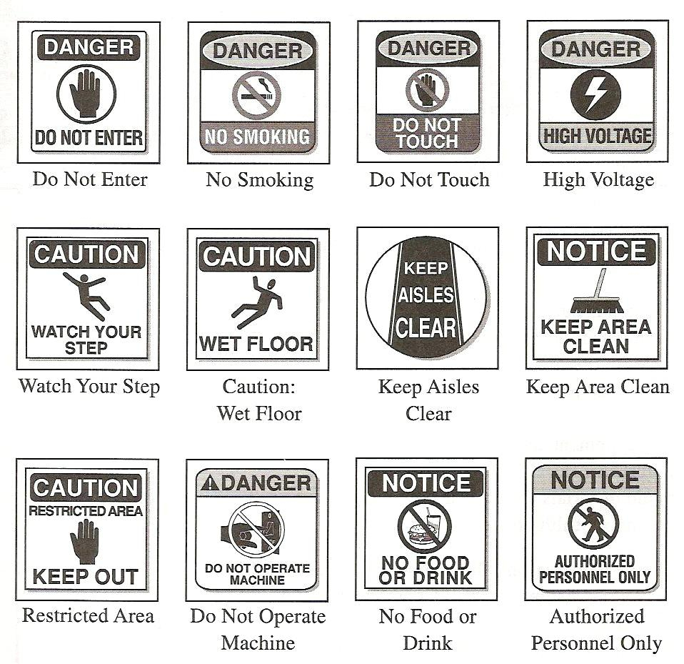 Worksheet Safety Signs Worksheet Free Printable Community Safety - Free Printable Safety Signs