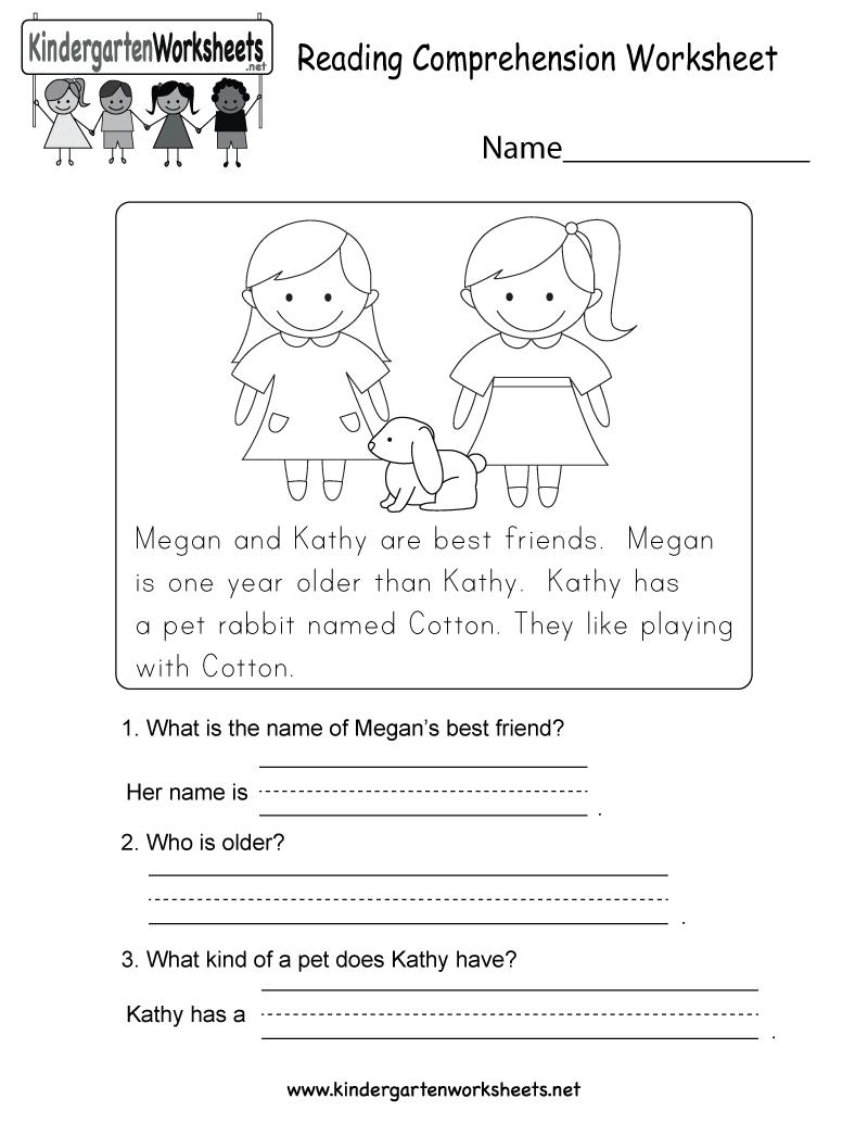 Worksheets Pages : Worksheets Pages Free Printable Reading - Free Printable English Reading Worksheets For Kindergarten