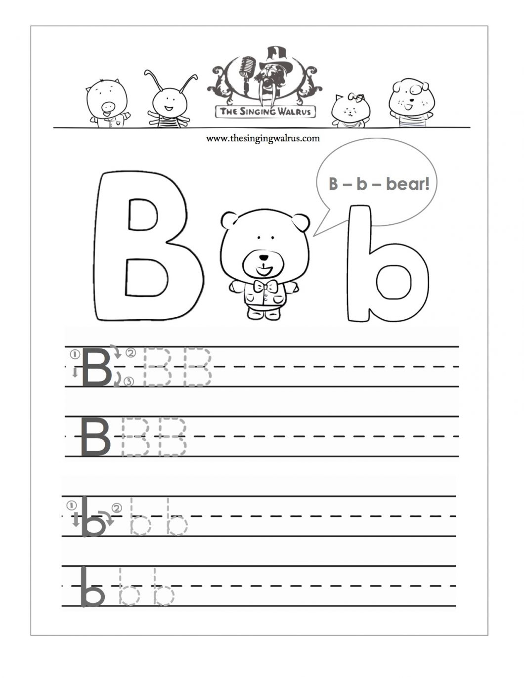Writing Pages For Preschoolers – With Printable Cursive Handwriting - Free Printable Letter Writing Worksheets
