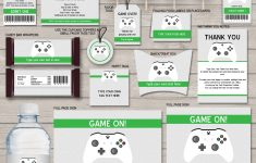 Free Printable Video Game Party Invitations