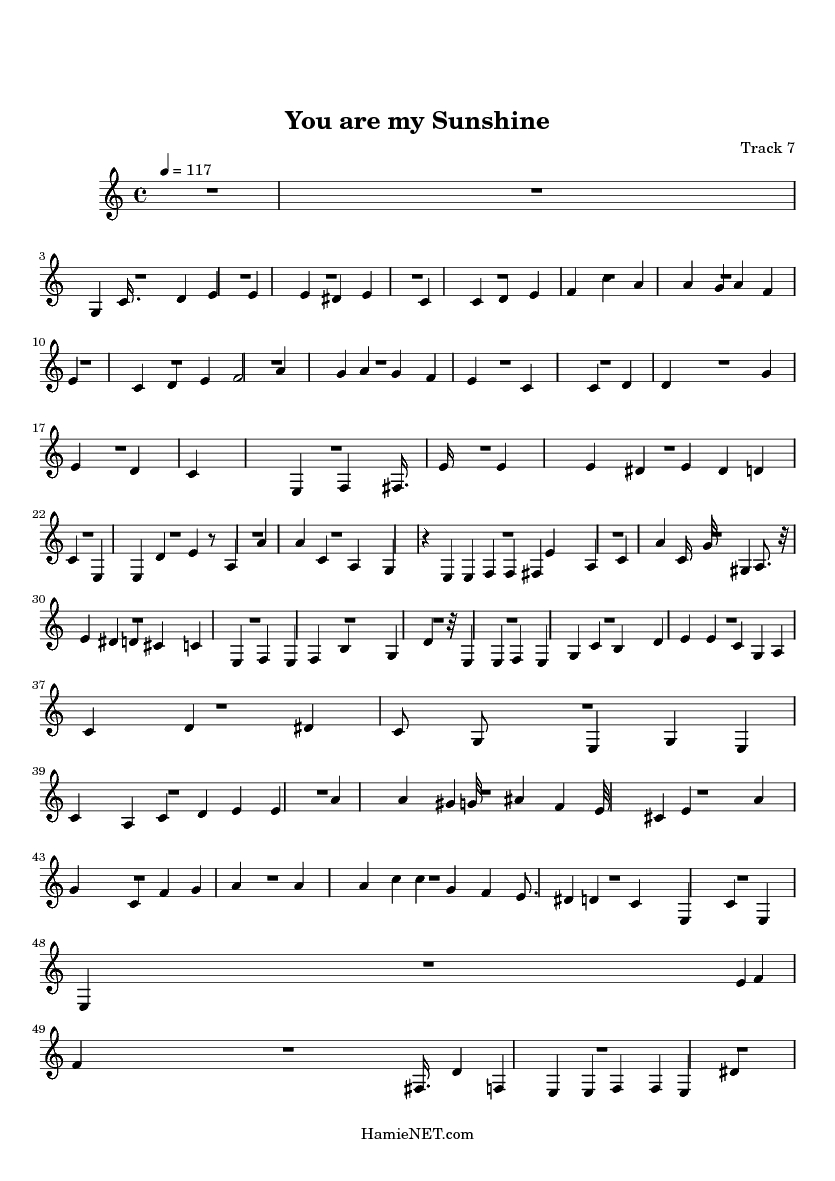 You Are My Sunshine Was Writtenformer Louisiana Governor, Jimmie - Free Printable Piano Sheet Music For You Are My Sunshine